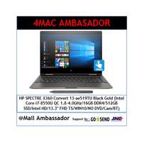 HP SPECTRE X360 Convert 13-ae519TU Black Gold