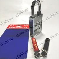Kunci Gembok Magnet 40mm Kotak Magnetic Padlock 40 mm