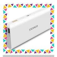 Romoss Sense 4 Power Bank 10400mAh (OEM) White / Powerbank Murah