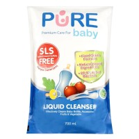 Pure Baby - Bottle Liquid Cleanser REFILL 700ml x 3 [PROMO]