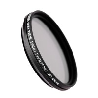 FOTGA 46mm Slim Adjustable Fader Variable ND Filter ND2 To ND400 Hig
