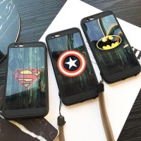 OPPO Neo 9 A37 Soft Case TPU Mirror Marvel Super Heroes
