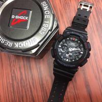 Jam Tangan Pria Casio G-Shock GA 120 Black Red Original Bm