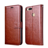 LEATHER FLIP COVER WALLET for Xiaomi Mi A1 Mi 5X MiA1 Mi5X case hp