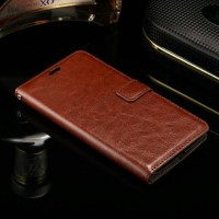 FLIP COVER WALLET Asus Zenfone Selfie ZD551KL Dompet Kulit HP Leather