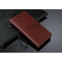 FLIP COVER WALLET Oppo R7s R7sf Case dompet kulit Casing Retro HP