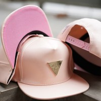 EXCLUSIVE SNAPBACK HATER PINK LEATHER