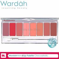 PROMO Lip Palette ChocoAholic Wardah Lipstik PALING MURAH