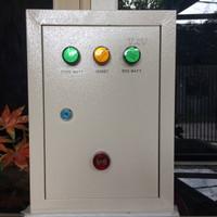 Panel Kontrol ATS Switch Otomatis 2 Jalur PLN - 1 Genset 2200 Watt