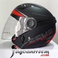 Terbaru Helm Half Paling Top ZEUS Helm ZS610 Pattern ZS 610 Import ZS