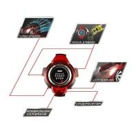 RC Voice Command Car Smart Watch Perintah Suara Merah Mainan Mobil Re