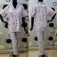 promo Baju Tidur Cewek Piyama Celana Panjang Wanita Katun Jepang Moti
