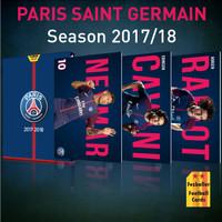 Kartu Bola Fezballer edisi Paris Saint Germain PSG season 2017/2018