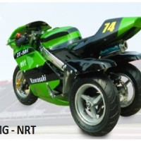 New sepeda motor mini model GP norton Roda 3 Anak