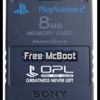 (Terlaris) Memory Ps2 Free Mcboot Buat Main Hardisk/Flashdisk Di Ps2 !