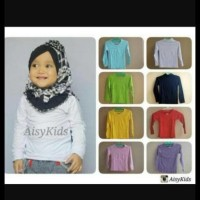 (Big Sale!!!) Kaos Polos Panjang Anak/Manset Anak 3Th-10Th ..