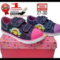 (New Product!!) Sepatu Ando Surfer Jeans, Sepatu Anak Perempuan Kets,
