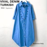 Baju Tunik Murah Atasan Blouse Muslim Terbaru P24