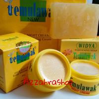 Paket Cream Temulawak Hologram Gold Super + Sabun Widya Holo Pink