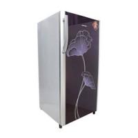 kulkas polytron 1 pintu motif bunga