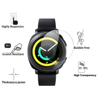 Samsung Gear Sport - Anti Gores Tempered Glass