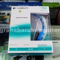 PROMO Logitech H150 Biru Stereo Headset Komputer PALING MURAH