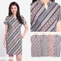 sz graphics batik dress gaun wanita t shirt wanita mini dress