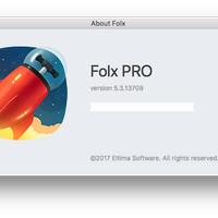 FOLX 5 PRO Version for 3 Mac Original