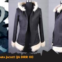 Jaket Anime Izaya Orihara Semi Cosplay Jacket Bulu Japan (JA DRR 01)