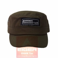 TOPI EIGER T576 COMMANDO CADET LIGHT SNAPBACK GREEN ARMY