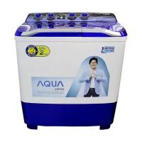 Aqua Sanyo QW-P1280T Hijab Series Mesin Cuci -2 Tabung Diskon
