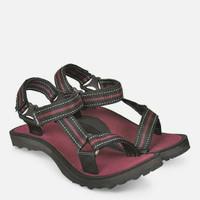 Sendal sepatu gunung pria marun empuk - Sendal cowok Jv terbaru