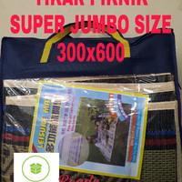LEISUREMAT 300X600   tikar plastik   anyaman plastik   anti air  murah