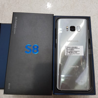 Samsung S8 64gb Single Sim Second Mulus Like New 99% Arctic Silver