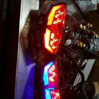 Lampu Rem Xabre Stop Lamp LED New + Sen Yamaha XABRE High Quality