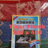 LEISUREMAT 300X400   tikar plastik   anyaman plastik   anti air  murah