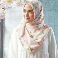 Jilbab segiempat premium scraf sakura by Hijab Princess