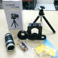 Harga 8 x zoom universal mobile phone telescope camera lens tri for   Hargalu.com
