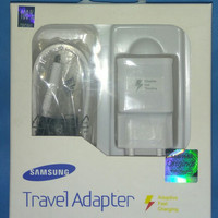 FAST CHARGING 2A SAMSUNG GALAXY ORIGINAL CHARGER NOTE 4 5 S6 7 GARANSI