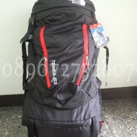 ransel carrier kerir The North Face TERRA 65 PACK hitam