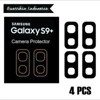 Original! Samsung S9 Plus Skin Cover Black Mate Camera Protector 4 Pcs