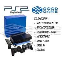 PS2 FAT HARDISK EXTERNAL 60GB FULL GAME & FULL SET