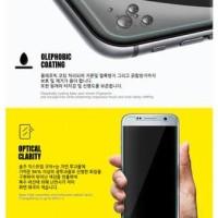 Tempered Glass Samsung J7+ J7 Plus 5.5 inchi Screen Guard Anti Gores