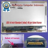 LCD/LED 14 Inchi Soket Kanan Untuk Laptop HP Compaq 510, 511, 515, 516