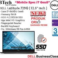 """DELL Latitude 7290 ( 12.5"""" Inch ) Core i7-8650U Gen8 With SSD"""