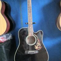 Gitar Akustik Elektrik Samick Murah Meriah Free softcase