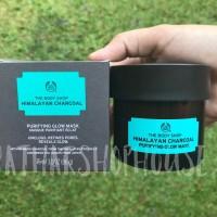 Masker Himalayan Charcoal Purifying Glow Mask The Body Shop