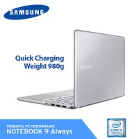 Samsung 2017 Notebook 9 Always 38.1cm NT900X5N-K58L Core i5 / 8GB / 25