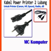 Kabel Power Printer Canon HP Epson/Scanner/Radio