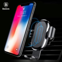 Baseus Car Mount Gravity Qi Wireless Fast Charging Air Vent Holder